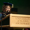 """Graduate School Dean Helena Wisniewski speaks during the UAA Spring 2018 Graduate Degree Hooding Ceremony.  <div class=""""ss-paypal-button""""><div class=""""ss-paypal-button"""">180505-HOODING-JRE-0145.jpg</div><div class=""""ss-paypal-button-end""""></div></div><div class=""""ss-paypal-button-end""""></div>"""