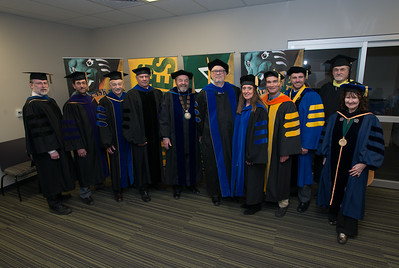 UAA Deans and leadership before the UAA 2017 Fall Commencement.  171217-COMMENCEMENT PORTRAITS-JRE-0275.jpg