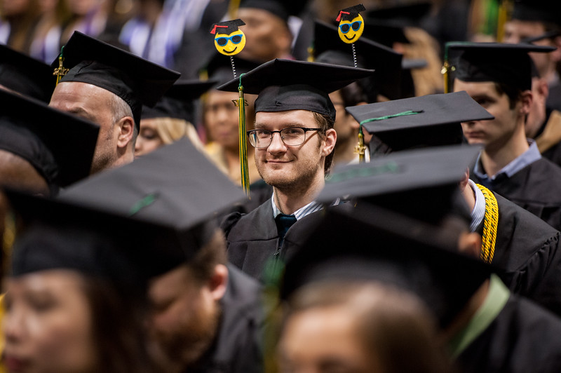 "Jade M. Aronson, BS Computer Science, waits to receive his degree during the UAA Fall 2017 Commencement.  <div class=""ss-paypal-button"">171217-COMMENCEMENT-JRE-0810.jpg</div><div class=""ss-paypal-button-end""></div>"