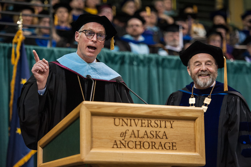 "UA President James R. Johnsen speaks during the UAA 2017 Fall Commencenent.  <div class=""ss-paypal-button"">171217-COMMENCEMENT-JRE-0783.jpg</div><div class=""ss-paypal-button-end""></div>"
