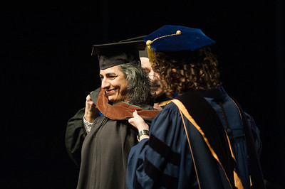 Seta B. Kabranian, Master of Fine Arts, Creative Writing and Literary Arts, is hooded at UAA's Fall 2017 Graduate Degree Hooding Ceremony.  171216-HOODING-JRE-0291.jpg