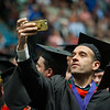 """Mahmoud Arafat, CIVL MS, takes a selfie during the UAA Spring 2018 Commencement at the Alaska Airlines Center.  <div class=""""ss-paypal-button"""">180506-COMMENCEMENT-JRE-0614.jpg</div><div class=""""ss-paypal-button-end""""></div>"""