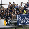 Some of the student section at an away football game.<br /> <br /> Photo by: Bowen Arrow Photography.