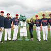 "Chancellor Cathy Sandeen with management and players after throwing the first pitch at UAA Night at the Ballpark as UAA hosts a Chugiak-Eagle River Chinooks baseball game at Lee Jordan Field in Chugiak.  <div class=""ss-paypal-button"">190610-CHANCELLOR BASEBALL-JRE-0216.jpg</div><div class=""ss-paypal-button-end""></div>"
