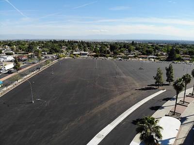 Memorial Stadium parking lot