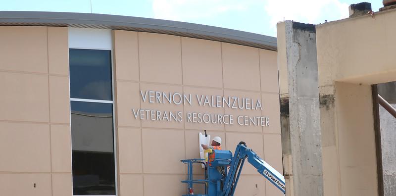 Vernon Valenzuela Veterans Resource Center_constructionA_signage set_09_19_19