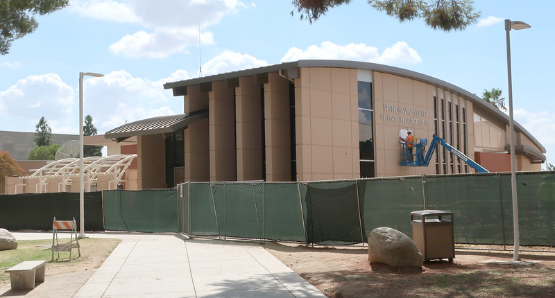 Vernon Valenzuela Veterans Resource Center_construction_progress_side_09_19_19