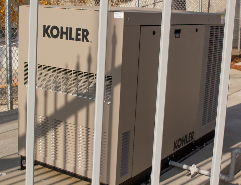 A new generator was installed in Memorial Stadium as part of the Phase 2 improvements.