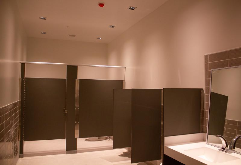 A bathroom on the Campus Center third floor.