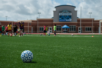 Soccer Summer Camp at the Dr. Jack Dugan Family Soccer & Track Stadium