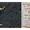 Spencer Swenson participates in the rockwall, available to students with a sand dollar card.