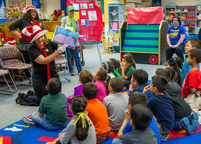 Dr. Catherine Rudowsky reads Dr. Seuss stories to children at the Early Childhood Development Center for Dr. Seuss's birthday.  More photos: https://flic.kr/s/aHsks7Jd3B