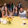 Nohelia Jimenez(left) Myrka Lozada, Arianna Lozada, Fahad Alghamdi and Cynthia Rivera at the Hispanic Heritage Month kick off celebration.