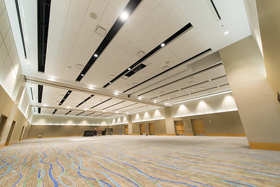 A sneak peek into the new University Center Ballroom.