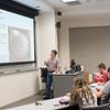 Dr. Fabio Moretzsohn De Castro explains what the traits of a symbiotic protist are during his Biology lecture.