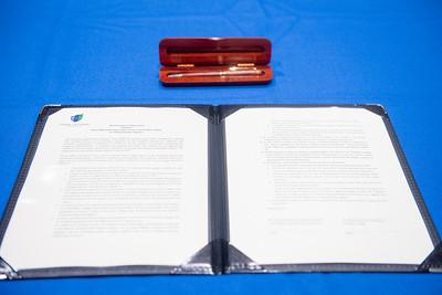 Texas A&M University-Corpus Christi and Del Mar Sign New Memorandum of Agreement (MOA). Wednesday, May 2 at the Texas A&M University-Corpus Christi.