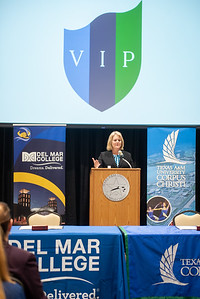 Dr. Kelly M. Quintanilla, president and CEO of Texas A&M University-Corpus Christi.