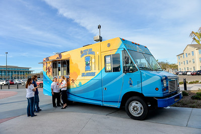 The TAMU-CC foodtruck was out at the Dining Hall's NYC event.