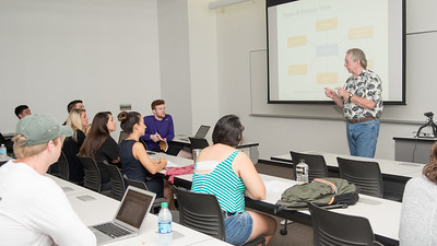 Dr. Kent Byus lectures about the types of Primary Data in his Marketing Research and Analysis class.