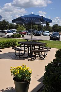 Upper Division patio