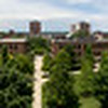 Campus summer panoramic