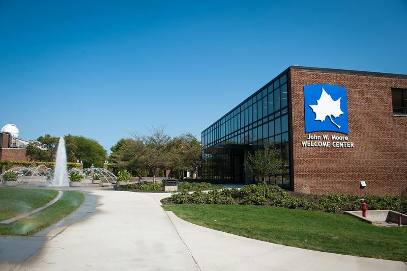 photos of Welcome Center