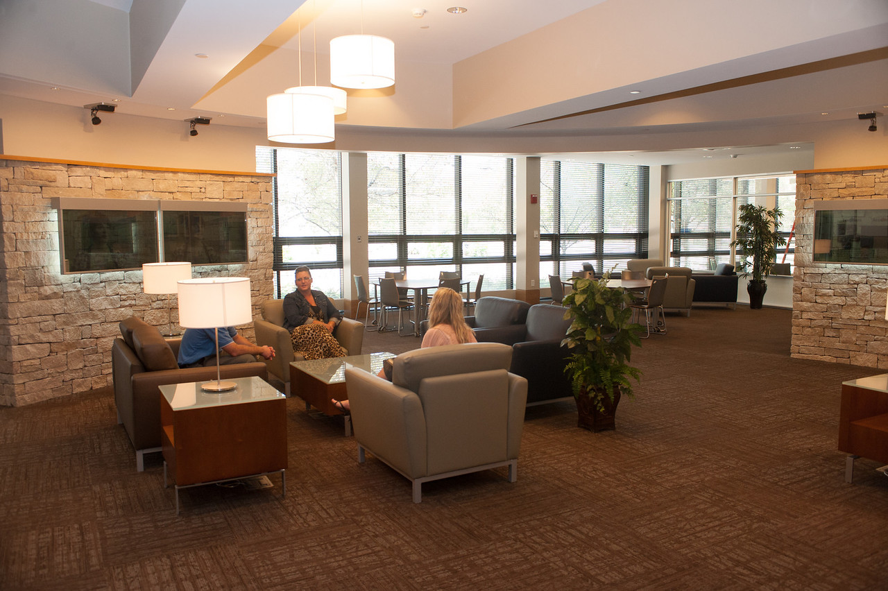 Interior of new Welcome Center