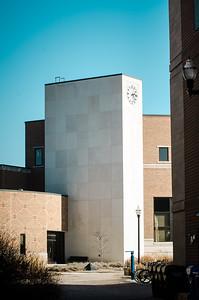 Fine Arts clock tower