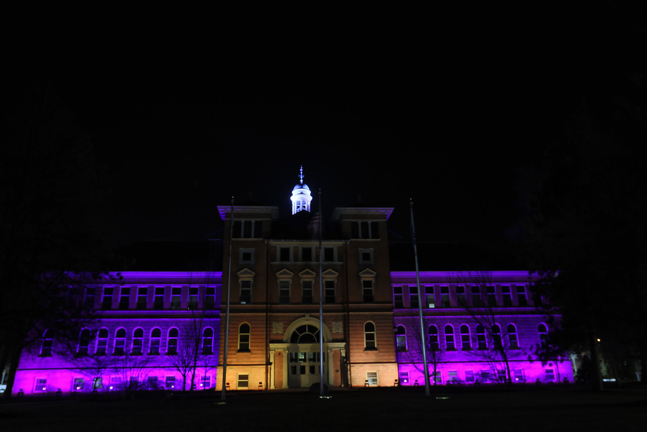 Old Main Purple Gold