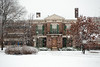 Condit House snow