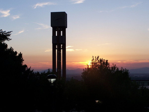 Bell Tower Sunset
