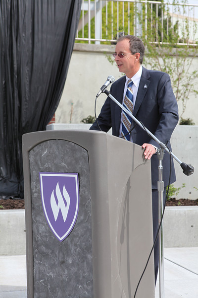Unveiling of Legacy Wall at Tracy Legacy Plaza - 2014