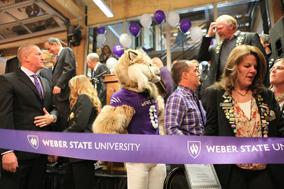 Weber State University Downtown Campus Grand Opening Ribbon Cutting
