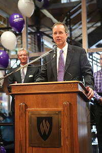 President Chuck Wight, Weber State University Downtown Campus Opening