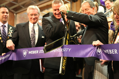 Weber State University Downtown Campus Ribbon Cutting, 1/2014