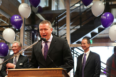 Mayor Mike Caldwell, Weber State University Downtown Campus Grand Opening