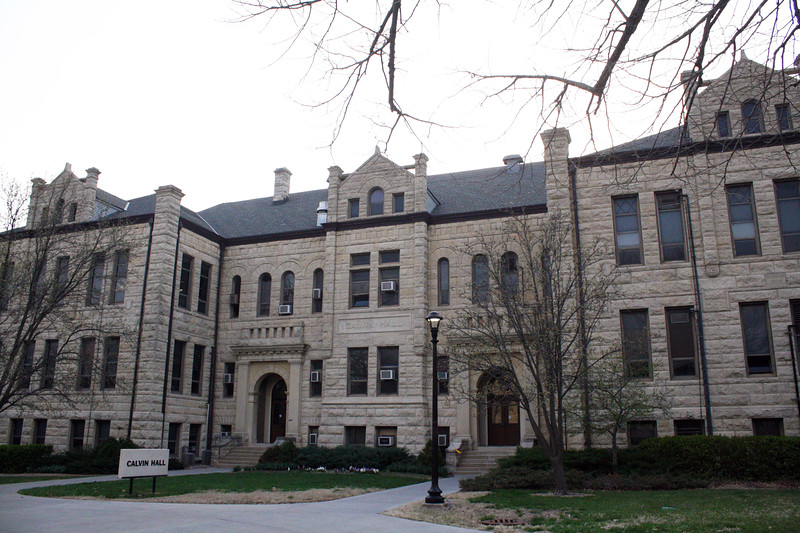 Calvin Hall, home to the political science department, on the Kansas State campus on April 5, 2019. (Dene Dryden | Collegian Media Group)