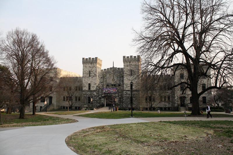 Nichols Hall on the Kansas State campus on April 5, 2019. (Dene Dryden | Collegian Media Group)