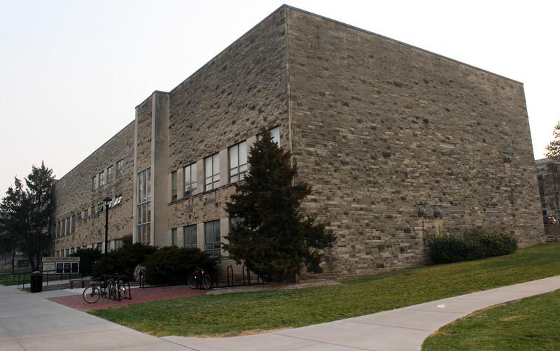 Shellenberger Hall on the Kansas State campus on April 5, 2019. (Dene Dryden | Collegian Media Group)