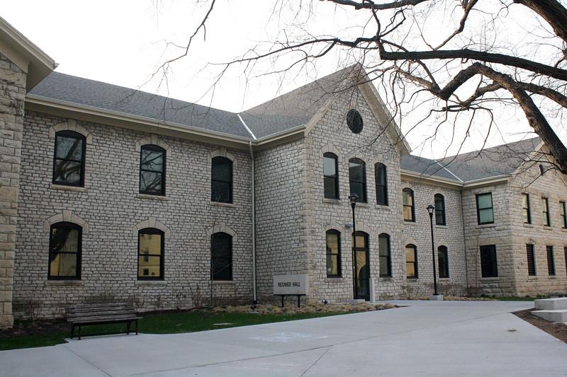 Regnier Hall on the Kansas State campus on April 5, 2019. (Dene Dryden | Collegian Media Group)