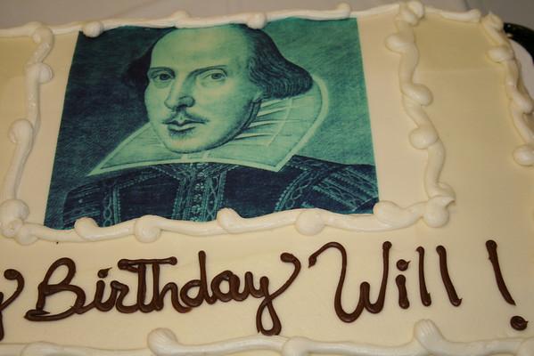 Shakespeares birthday