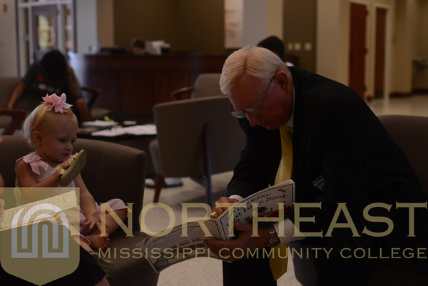 2014-08-18 PRES Dr Allen with Future Student
