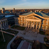 Downtown Campus in golden sunset light<br /> Photo by: Brian Busher
