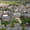 Aerials of the Downtown Campus. Photographer: Gary Gold