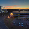 Sunset aerial photos of the East Campus in November 2015<br /> Photo by: Brian Busher