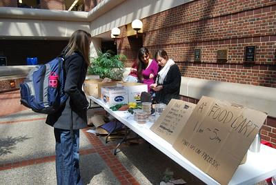 Ann Arbor Student Food Coop Pilot Food Stand