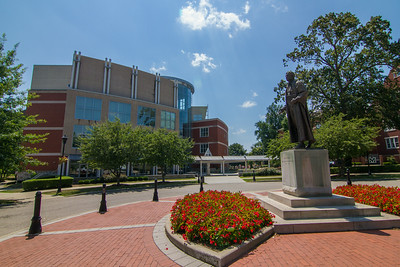 John Marshall Statue and Drinko Library