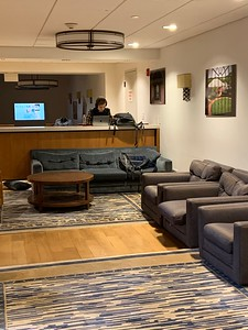 Burnett House; Day Student area for lounging, storage, studying Burnett House