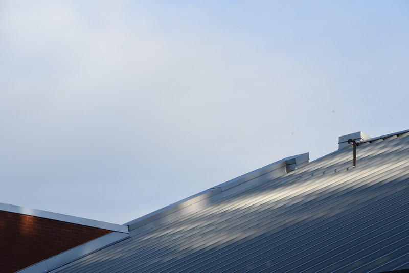 Science Building rooflines