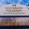 UAlbany signage